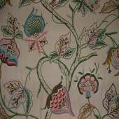 Crewel Fabric C03