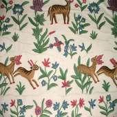 Crewel Fabric C02