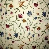 Crewel Fabric C06