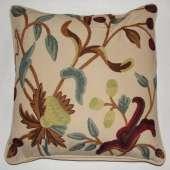 Crewel Pillow GR1