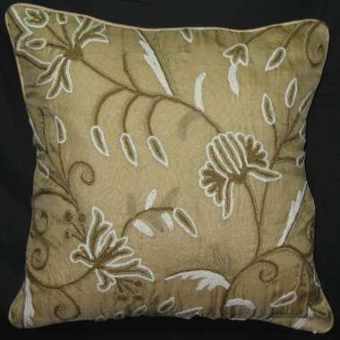 Crewel Pillow Design