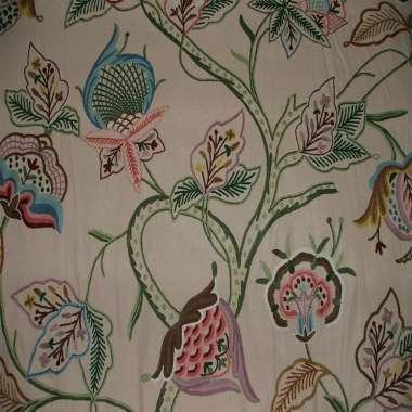 Crewel Fabric Calfornia Woodmark Baloon  Duck