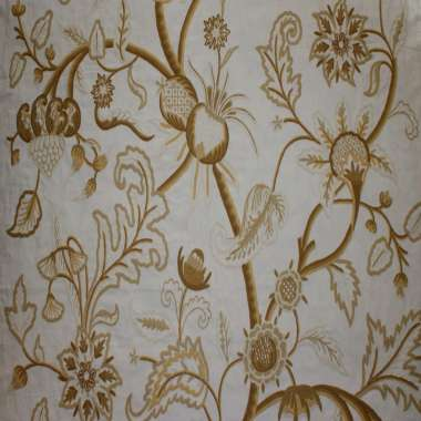 Crewel Fabric Chelsea Gulmarg Water Willow Cotton Duck