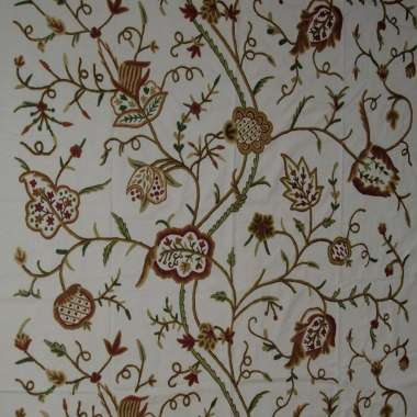 Crewel Fabric Watlab Dal Lake Cotton Duck fabric